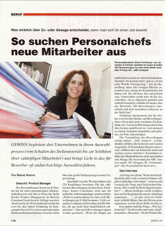 2004_02_Göbl_Gewinn_So suchen Personalchefs neue Mitarbeiter aus