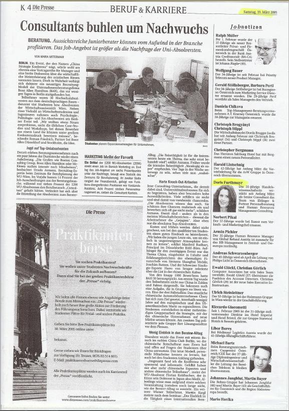 2005_03_Göbl_Pressse_Consultants buhlen um Nachwuchs