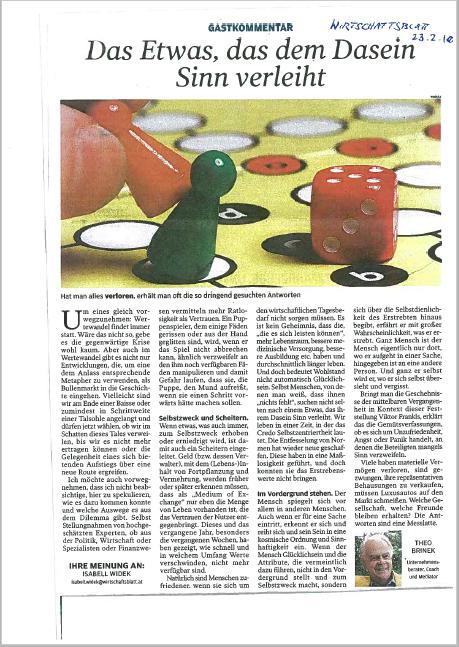 2010_02_22 Brinek_Wirtschaftsblatt_das Etwas