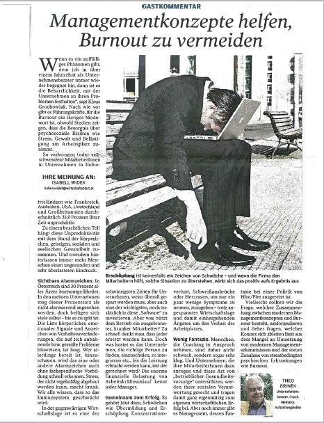2011_11_Brinek_Wirtschaftsblatt_Burnout